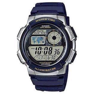 Casio Classic blå resin med stål quartz multifunktion (3198) Herre ur, model AE-1000W-2AVEF